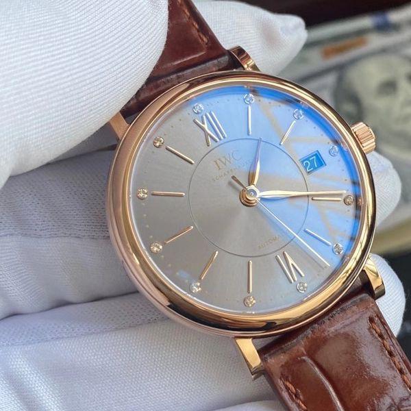 V7厂官网万国柏涛菲诺一比一高仿手表IW458106女士腕表价格报价