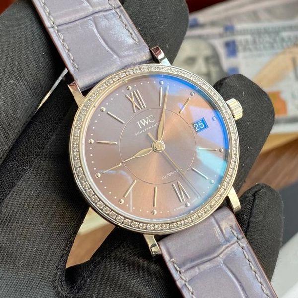 V7厂万国柏涛菲诺1比1复刻手表IW458104女腕表价格报价