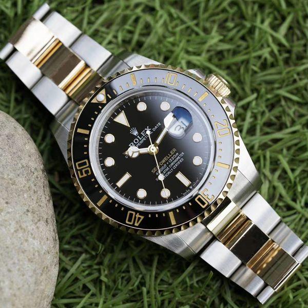 GMF包金单黄顶级一比一复刻手表劳力士海使型系列m126603-0001腕表价格报价