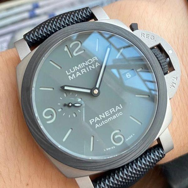 VS厂沛纳海LUMINOR 1比1超A高仿手表PAM01662烟灰腕表价格报价