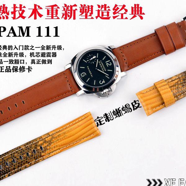 XF厂超A高仿手表Panerai沛纳海LUMINOR PAM00111,PAM111价格报价